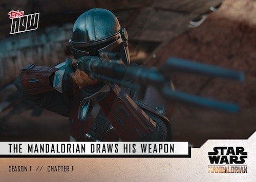 2019 Topps Now Star Wars Mandalorian Cards - Chapter 5 3