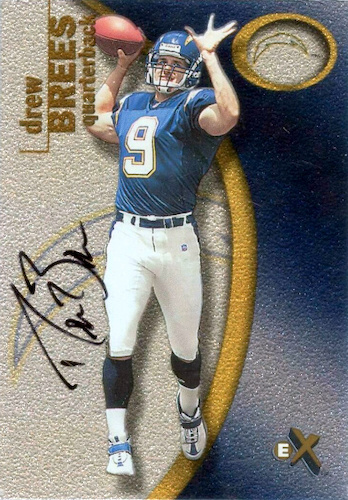 Top Drew Brees Rookie Cards to Collect 4
