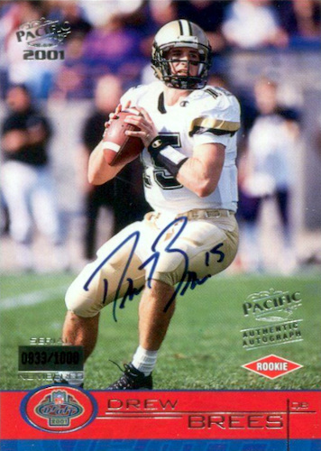 Top Drew Brees Rookie Cards to Collect 11