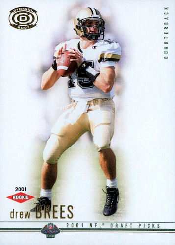Top Drew Brees Rookie Cards to Collect 19