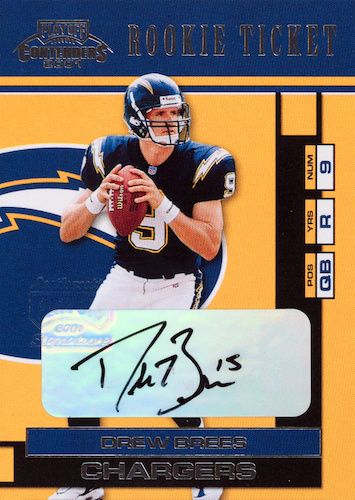 Top Drew Brees Rookie Cards to Collect 27
