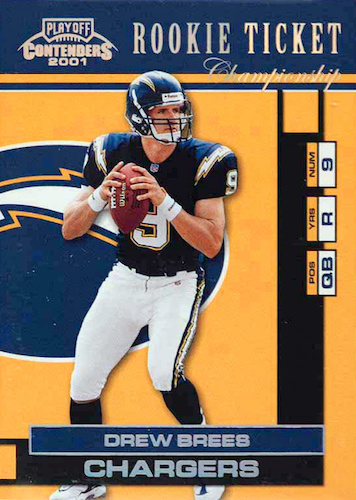 Top Drew Brees Rookie Cards to Collect 28