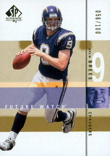 Top Drew Brees Rookie Cards to Collect 9
