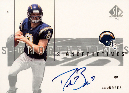 Top Drew Brees Rookie Cards to Collect 10