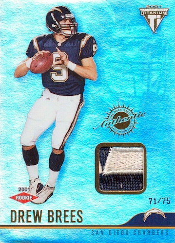 Top Drew Brees Rookie Cards to Collect 2