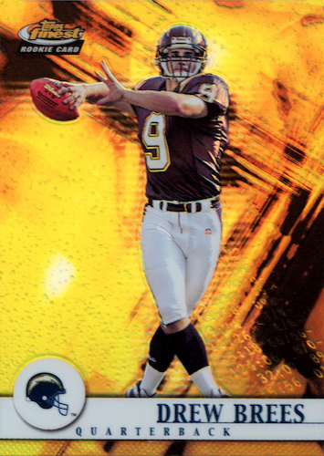Top Drew Brees Rookie Cards to Collect 7