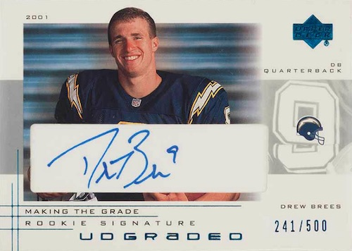 Top Drew Brees Rookie Cards to Collect 15