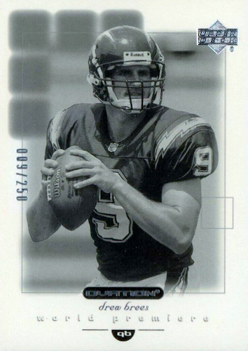 Top Drew Brees Rookie Cards to Collect 24