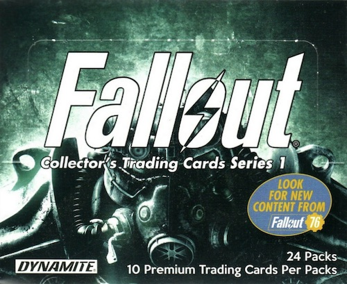 Dynamite Fallout Cards Checklist Details Buy Series 1 Series 2 Boxes