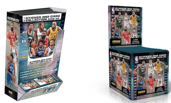 2019-20 Panini NBA Sticker Collection Basketball Cards 6