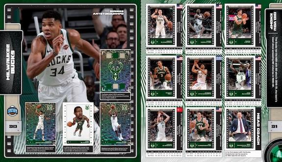 2019-20 Panini NBA Sticker Collection Basketball Cards 4