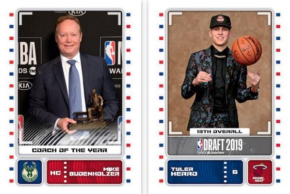 2019-20 Panini NBA Sticker Collection Basketball Cards 3
