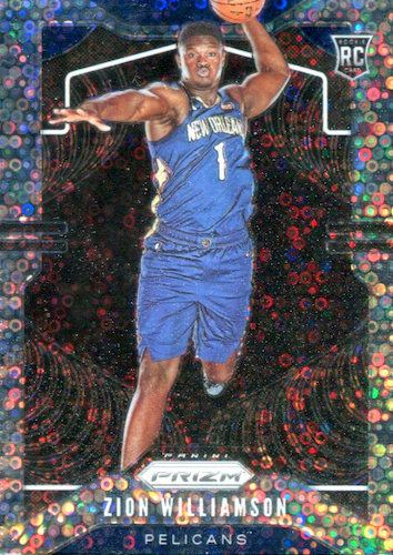 Top Zion Williamson Rookie Cards to Collect 6