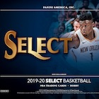 2019-20 Panini Select Basketball Cards