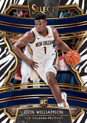 2019-20 Panini Select Basketball Cards - Checklist Added 3
