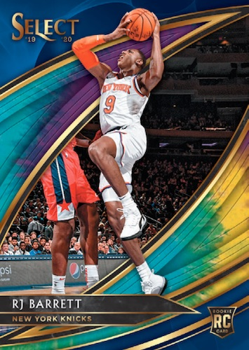 2019-20 Panini Select Basketball Cards - Checklist Added 5