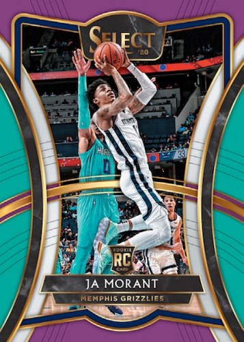 2019-20 Panini Select Basketball Cards - Checklist Added 4