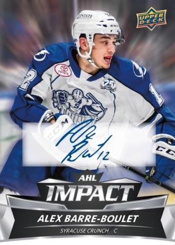 2019-20 Upper Deck AHL Hockey Cards 6