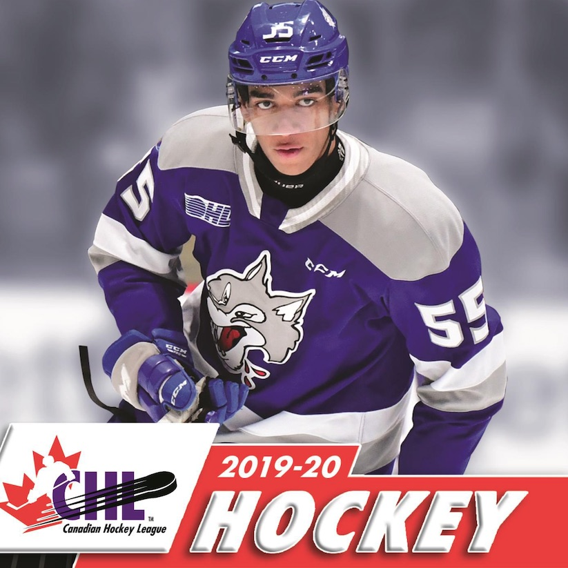 2018-19 Upper Deck CHL Scouting Report Hockey #SR-1 Alexis Lafreniere Rimouski Oceanic Official Canadian Hockey League Trading Card From UD
