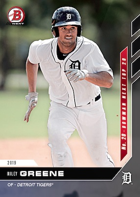 2019 Bowman Next Topps Now Baseball Cards - Top 20 Prospects Checklist 3