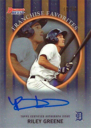 2019 Bowman's Best Baseball Cards 29