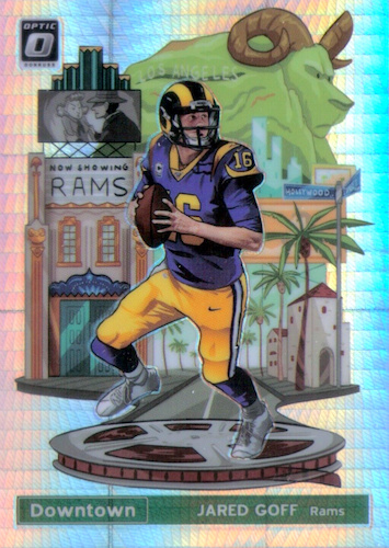 2019 Donruss Optic Football Cards 35