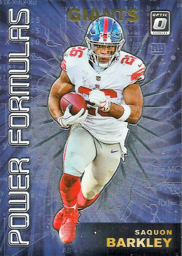 2019 Donruss Optic Football Cards 37