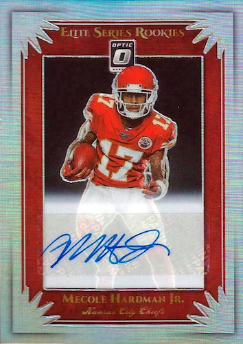 2019 Donruss Optic Football Cards 34