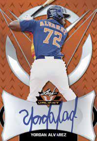 2019 Leaf Valiant Baseball Cards 1