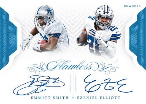 2019 Panini Flawless Football Cards 7