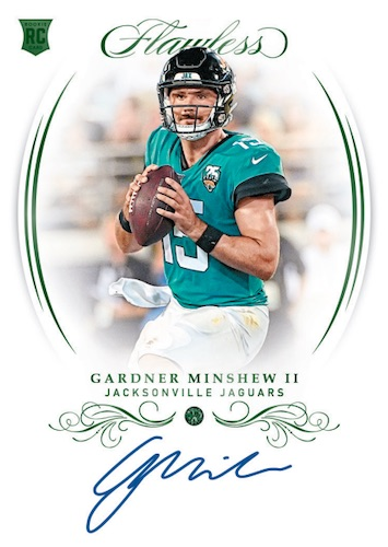 2019 Panini Flawless Football Cards 4