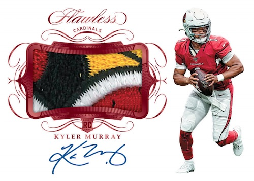2019 Panini Flawless Football Cards 5