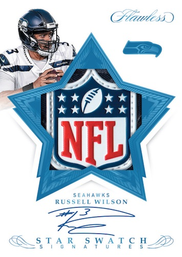 2019 Panini Flawless Football Cards 6