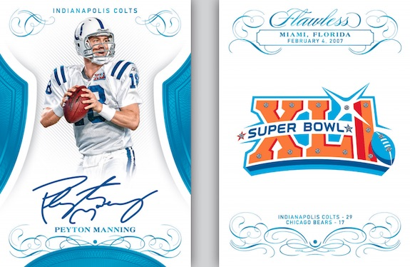 2019 Panini Flawless Football Cards 9