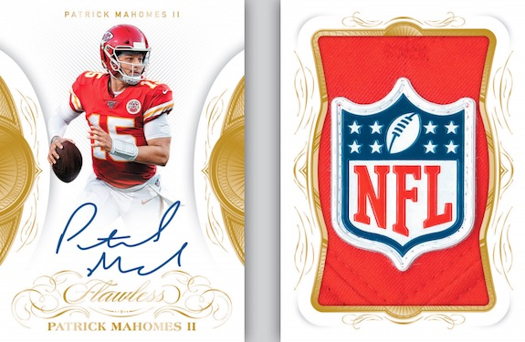 2019 Panini Flawless Football Cards 8