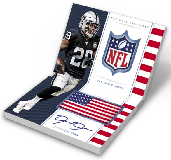 2019 Panini National Treasures Football Cards 10