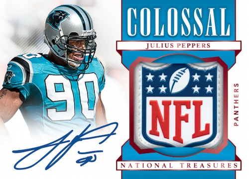 2019 Panini National Treasures Football Cards 7