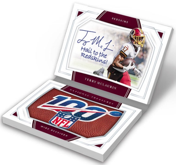 2019 Panini National Treasures Football Cards 9