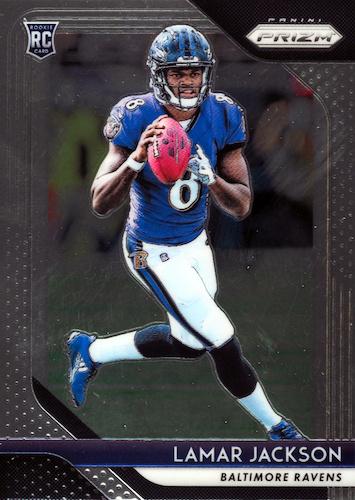 Hottest Lamar Jackson Cards on eBay 1