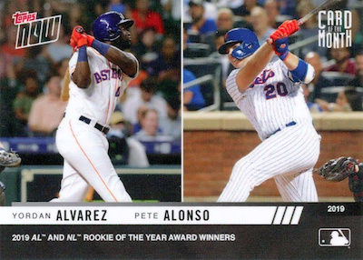 2019 Topps Now Card of the Month Baseball Cards Checklist and Gallery 9