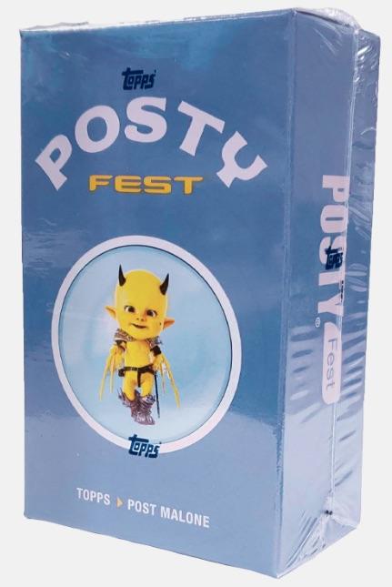 2019 Topps Posty Fest Trading Cards 4