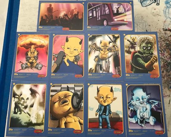 2019 Topps Posty Fest Trading Cards 1