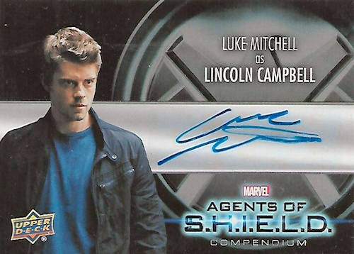 2019 Upper Deck Agents of SHIELD Compendium Trading Cards 28