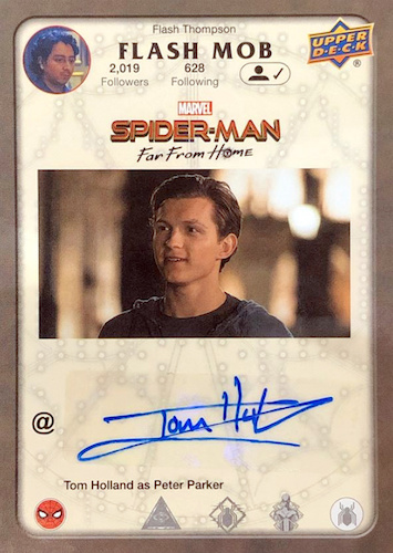 2019 Upper Deck Spider-Man Far From Home Trading Cards 26