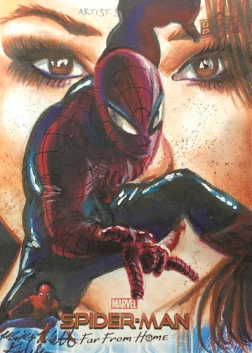 2019 Upper Deck Spider-Man Far From Home Trading Cards 29
