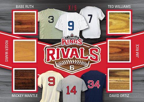 2020 Leaf Lumber Kings Baseball Cards 8