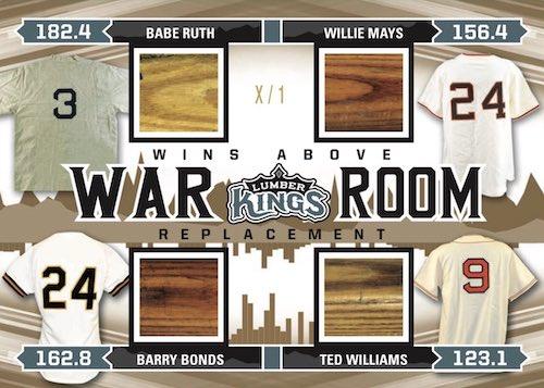 2020 Leaf Lumber Kings Baseball Cards 7