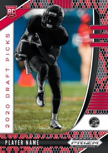 2020 Panini Prizm Draft Picks Football Cards 4