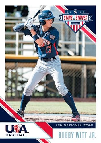 2020 Panini Stars & Stripes USA Baseball Cards 3