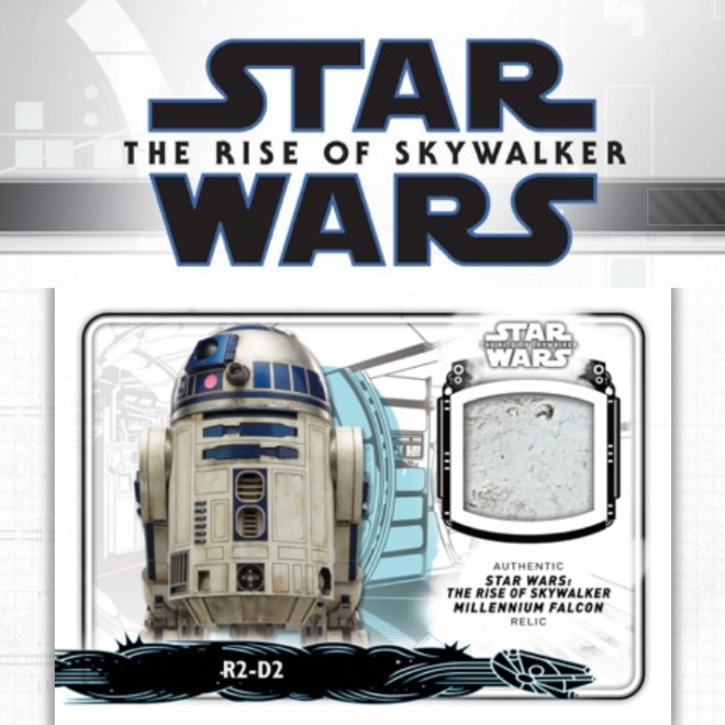 Topps Star Wars The Rise of Skywalkers partie 2 Trading Card 10 Booster
